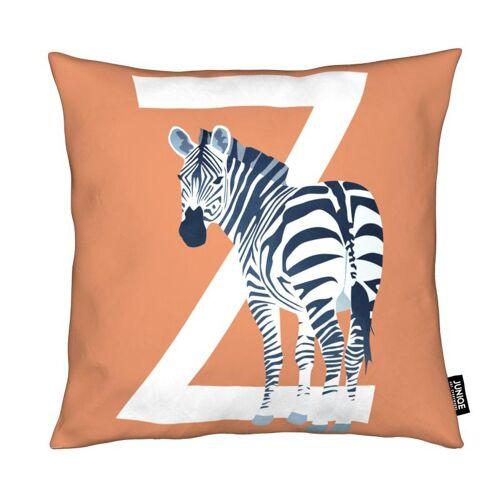 "JUNIQE Deko Kissen Zebras ""Z Zebra"" von JUNIQE"