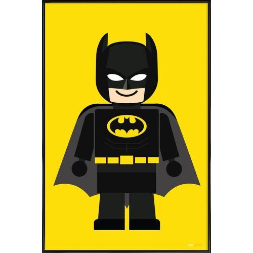"""JUNIQE Kunstdruck Batman """"Batman Toy"""" von JUNIQE - Künstler: Rafa Gomes"""