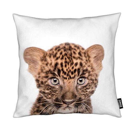 "JUNIQE Deko Kissen Leoparden ""Leopard"" von JUNIQE"
