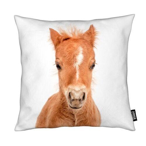 """JUNIQE Deko Kissen Pferde """"Foal"""" von JUNIQE"""