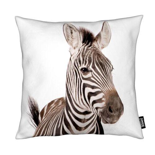 "JUNIQE Deko Kissen Zebras ""Zebra"" von JUNIQE"