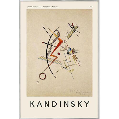 "JUNIQE Poster im Alurahmen Wassily Kandinsky ""Kandinsky - Annual Gift for the Kandinsky Society"" von JUNIQE - Künstler: Art Classics"