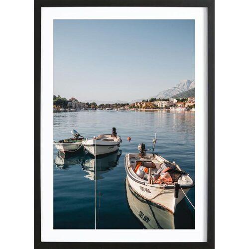 """JUNIQE Bild Reise """"Makarska by Reisevergnügen"""" von JUNIQE - Künstler: Reisevergnügen"""