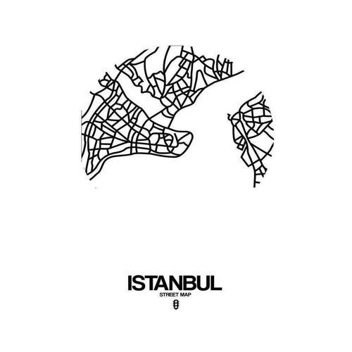 "JUNIQE Leinwandbild Istanbul ""Istanbul"" von JUNIQE - Künstler: Naxart"