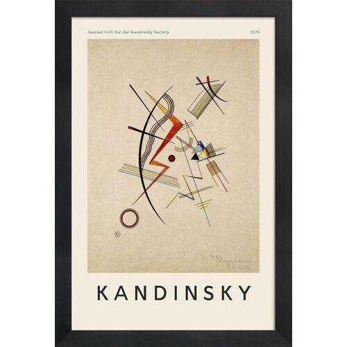 "JUNIQE Bild Wassily Kandinsky ""Kandinsky - Annual Gift for the Kandinsky Society"" von JUNIQE - Künstler: Art Classics"