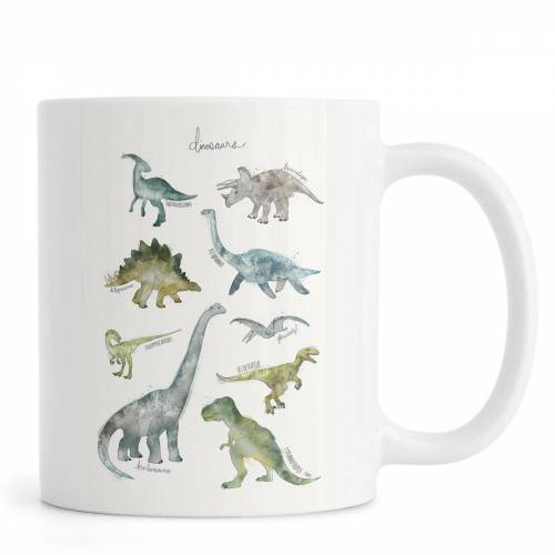 """JUNIQE Tassen Dinosaurier """"Dinosaurs"""" von JUNIQE"""