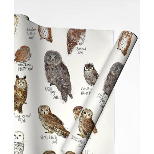 """JUNIQE Geschenkpapier Eulen """"Owls"""" von JUNIQE"""
