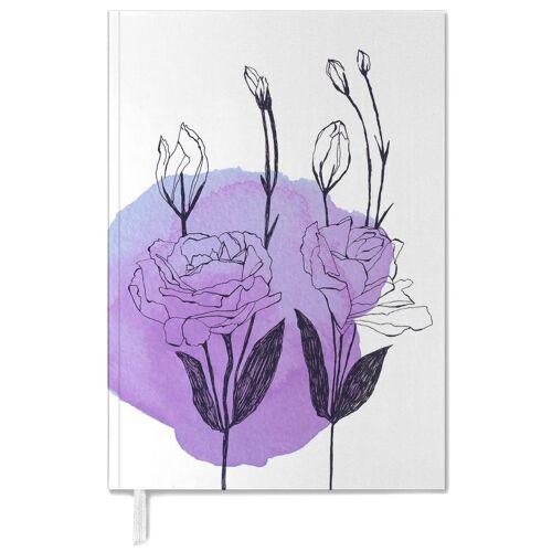 "JUNIQE Terminplaner 2021 Blumen ""Lisianthus"" von JUNIQE"