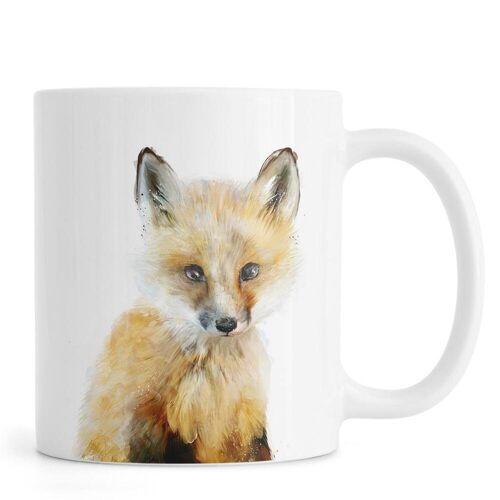 """JUNIQE Tassen Füchse """"Little Fox"""" von JUNIQE"""