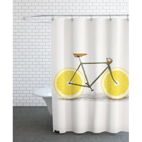 """JUNIQE Duschvorhang Zitronen """"Zest"""" von JUNIQE"""