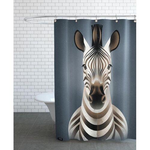 """JUNIQE Duschvorhang Zebras """"Zebra II"""" von JUNIQE"""