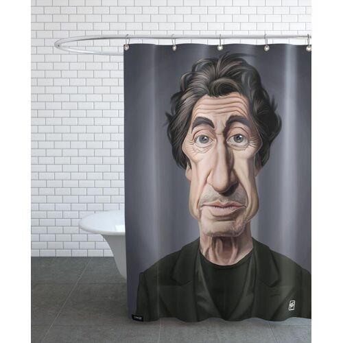 "JUNIQE Duschvorhang Al Pacino ""Al Pacino"" von JUNIQE"