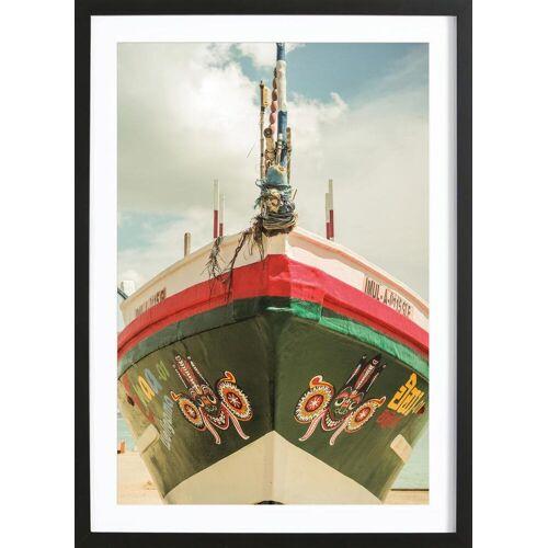 """JUNIQE Bild Boote """"Indian Summer"""" von JUNIQE - Künstler: Shot by Clint"""
