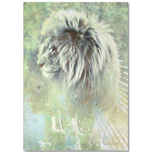 """JUNIQE Notizblock Löwen """"Mufasa"""" von JUNIQE"""