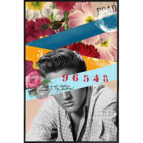 "JUNIQE Poster Elvis ""Public Figures: Elvis"" von JUNIQE - Künstler: Elo Marc"