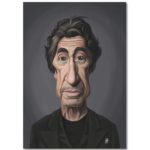 """JUNIQE Notizblock Al Pacino """"Al Pacino"""" von JUNIQE"""