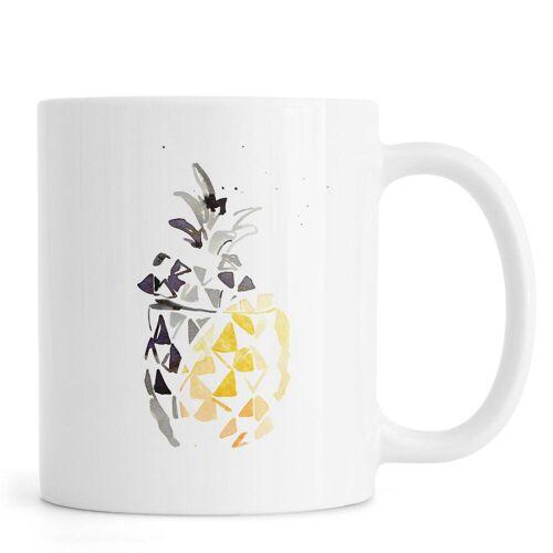"""JUNIQE Tassen Ananas """"Ananas"""" von JUNIQE"""