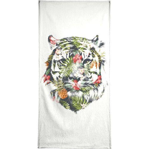 """JUNIQE Handtücher Tiger """"Tropical Tiger"""" von JUNIQE"""