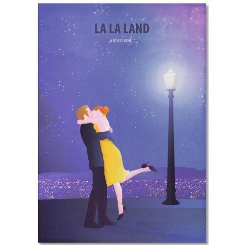 "JUNIQE Notizblock Filme ""Lalaland 1"" von JUNIQE"