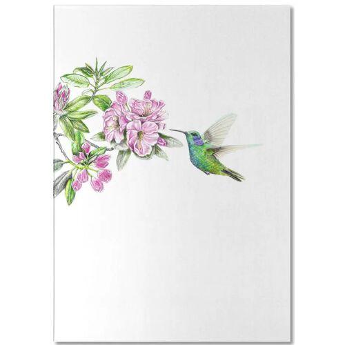 "JUNIQE Notizblock Kolibris ""Kolibri"" von JUNIQE"