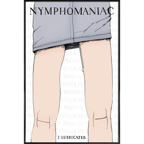"""JUNIQE Poster Typografie & Symbole """"Nymphomaniac"""" von JUNIQE - Künstler: Mary and the Locks"""
