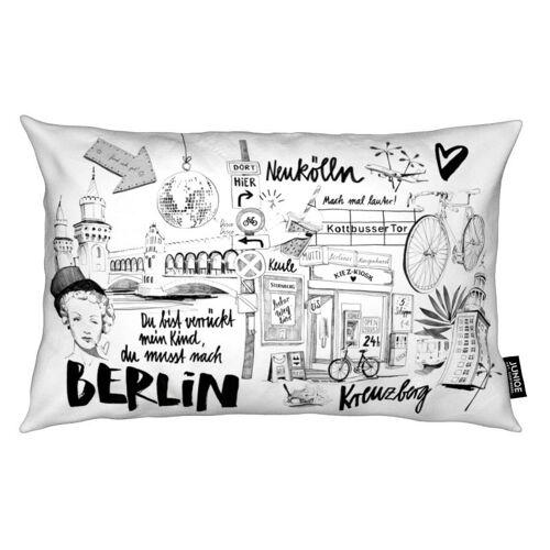 """JUNIQE Deko Kissen Berlin """"BERLIN 1"""" von JUNIQE"""