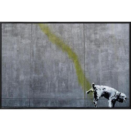 """JUNIQE Poster Hunde """"Pissing Dog"""" von JUNIQE - Künstler: andem"""