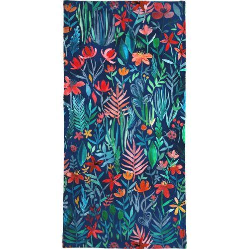 "JUNIQE Handtücher Blumen ""Tropical Ink"" von JUNIQE"
