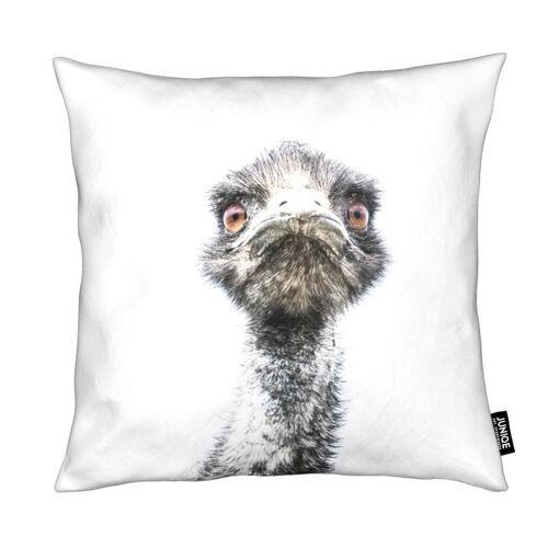 """JUNIQE Deko Kissen Vögel """"Emu"""" von JUNIQE"""