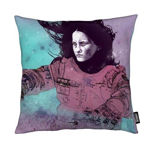 "JUNIQE Deko Kissen Astronauten ""Astronaut 3"" von JUNIQE"