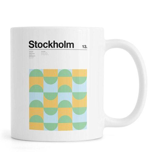 """JUNIQE Tassen Stockholm """"Stockholm"""" von JUNIQE"""