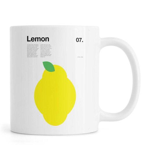 "JUNIQE Tassen Zitronen ""Lemon"" von JUNIQE"
