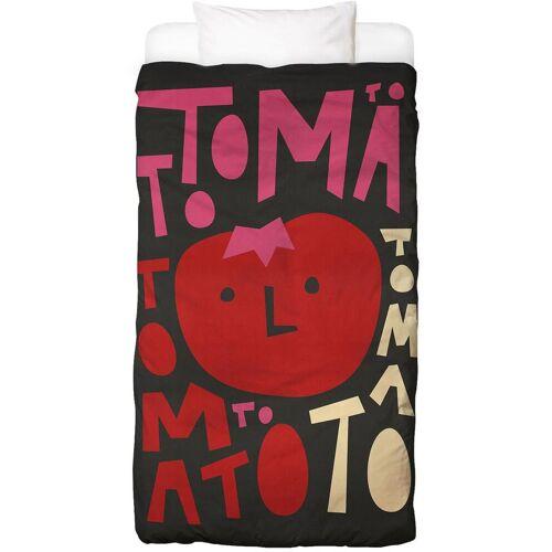 "JUNIQE Bettwäsche Tomaten ""Tomato Tomato"" von JUNIQE"