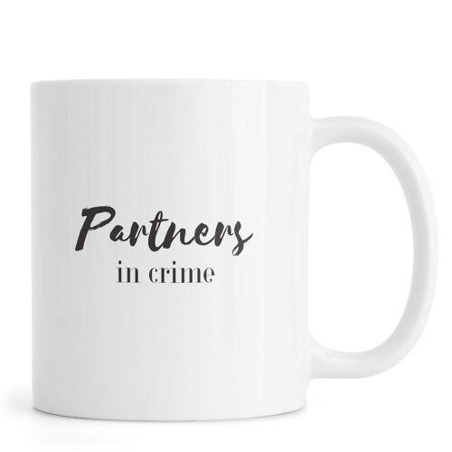 """JUNIQE Tassen Zitate & Slogans """"Partners"""" von JUNIQE"""