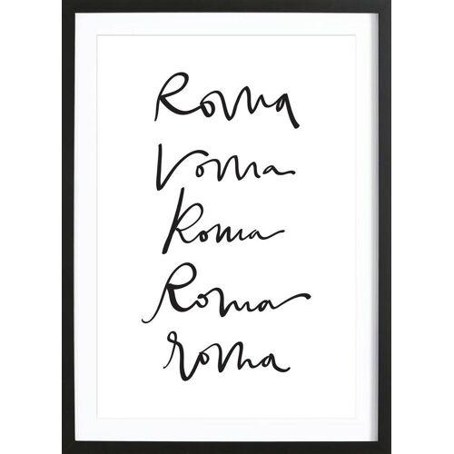 """JUNIQE Bild Rom """"Rome"""" von JUNIQE - Künstler: Kristen Polsinelli"""