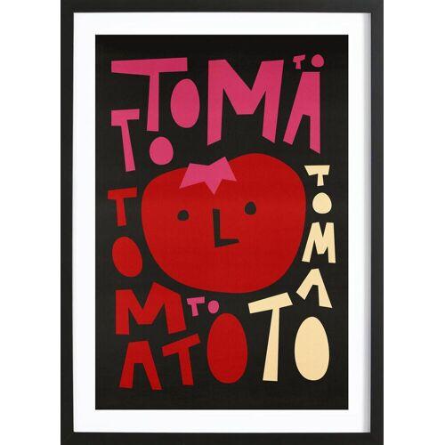 """JUNIQE Bild Tomaten """"Tomato Tomato"""" von JUNIQE - Künstler: Fox & Velvet"""