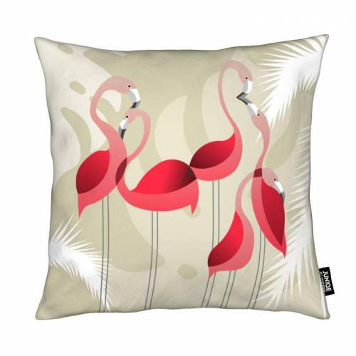 "JUNIQE Deko Kissen Flamingos ""Flamingo"" von JUNIQE"