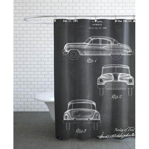 """JUNIQE Duschvorhang Autos """"Automobile"""" von JUNIQE"""