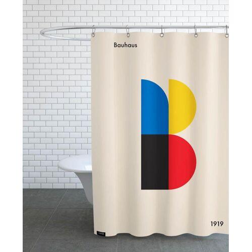 "JUNIQE Duschvorhang Retro & Vintage ""B for Bauhaus"" von JUNIQE"