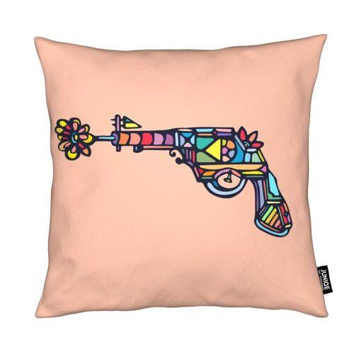 "JUNIQE Deko Kissen Pop Art ""My Gun"" von JUNIQE"