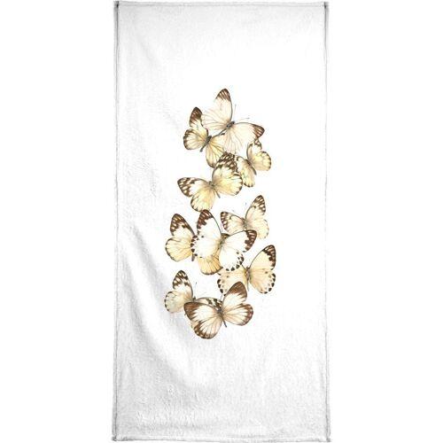 """JUNIQE Handtücher Schmetterlinge """"Butterfly 1"""" von JUNIQE"""