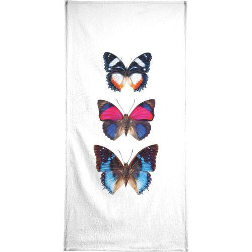 """JUNIQE Handtücher Schmetterlinge """"Butterfly 3"""" von JUNIQE"""
