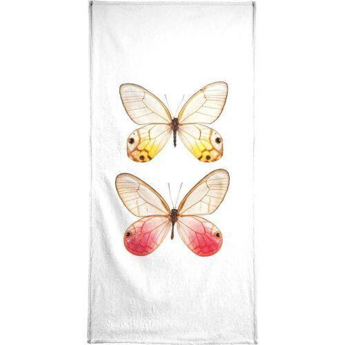 """JUNIQE Handtücher Schmetterlinge """"Butterfly 4"""" von JUNIQE"""