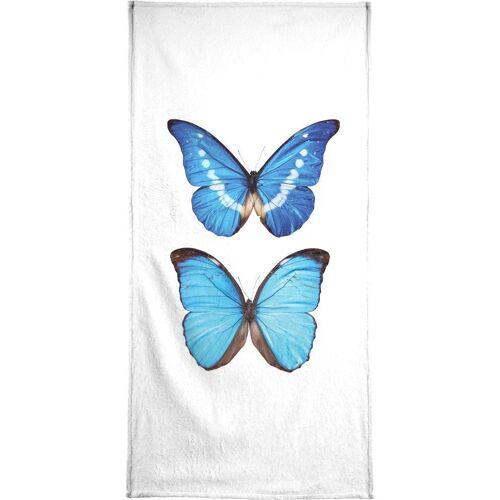 """JUNIQE Handtücher Schmetterlinge """"Butterfly 5"""" von JUNIQE"""
