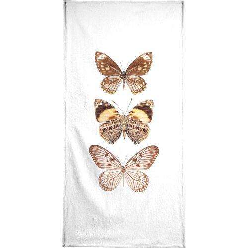"""JUNIQE Handtücher Schmetterlinge """"Butterfly 6"""" von JUNIQE"""