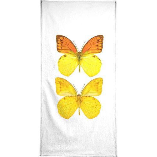 """JUNIQE Handtücher Schmetterlinge """"Butterfly 7"""" von JUNIQE"""