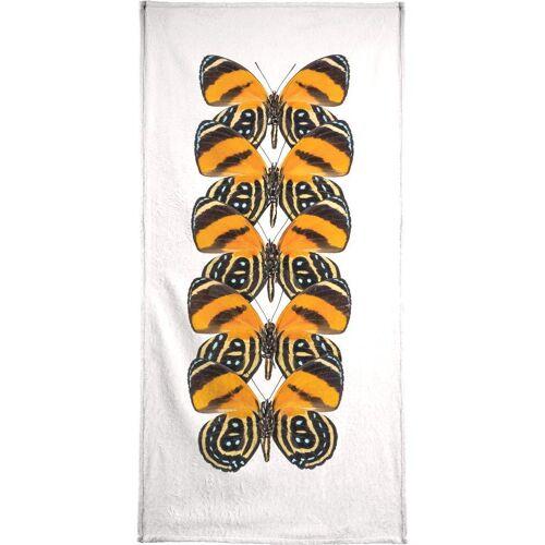 """JUNIQE Handtücher Schmetterlinge """"Butterfly"""" von JUNIQE"""