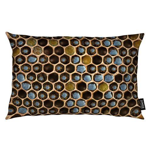 """JUNIQE Deko Kissen Bienen """"Bee Pattern"""" von JUNIQE"""