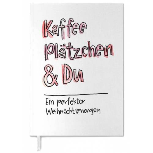 """JUNIQE Terminplaner 2021 Zitate & Slogans """"Kaffee & Du"""" von JUNIQE"""