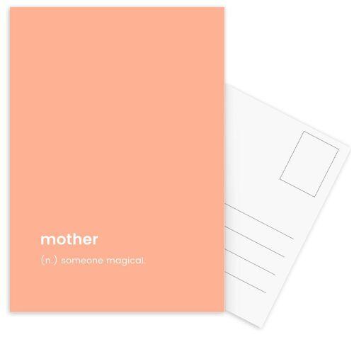 """JUNIQE Postkarten Muttertag """"For Mum"""" von JUNIQE - Karten Kunst"""